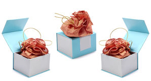 Expensive gift pouch's Royalty Free Stock Image