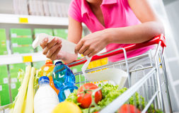 Free Expensive Grocery Bills Royalty Free Stock Photography - 47973577