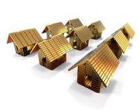 Expensive houses concept Stock Photos