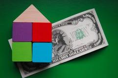 Expensive housing market stock photo