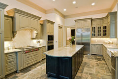 Expensive kitchen Royalty Free Stock Photos
