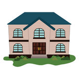Expensive looking family house icon image Stock Photos