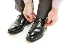 Expensive Mens Shoes Stock Photos