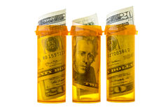 Expensive prescription drugs Royalty Free Stock Photo