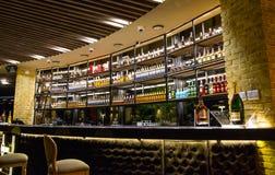 Expensive Restaurant Bar Wedding Venue royalty free stock image