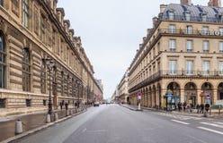 Expensive Rivoli street in Paris - Rue Rivoli Stock Photos