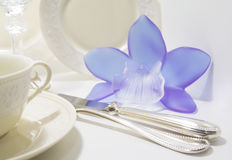 Expensive Table Set Royalty Free Stock Images