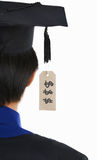 Expensive tag education Royalty Free Stock Images