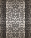 Expensive Victorian pattern in retro vintage style. Vector illustration Stock Photos