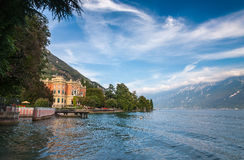 Expensive villa on Lake Garda Stock Images