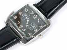 An expensive watch. An expensive & elegant wrist watch Royalty Free Stock Photo
