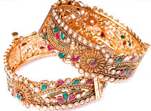 Expensive wedding gift jewellery Stock Photography