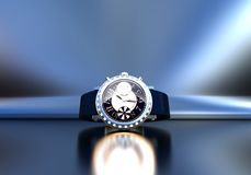 Free Expensive Wrist Watch Jewelry. Stock Images - 114125044