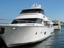 Expensive Yachts Royalty Free Stock Images