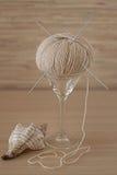 Expensive yarn Stock Photos