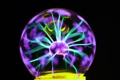 Experiência da lâmpada do plasma imagens de stock royalty free