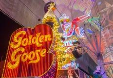 Experiência da rua de Las Vegas, Fremont Imagens de Stock Royalty Free