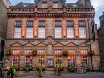 Experiência do uísque escocês, milha real, Edimburgo Escócia Foto de Stock