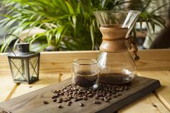 Experiência gourmet do café e do barista fotos de stock royalty free