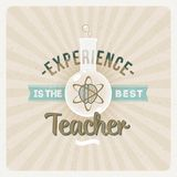 Experience is the best teacher Royalty Free Stock Photos
