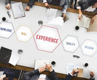 Experience Knowledge Skill Wisdom Intelligence Concept Royalty Free Stock Images
