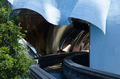 Experience Music Project And Science Fiction Museum And Hall Of Fame,  Seattle, USA Stock