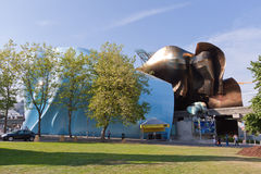 Experience Music Project Seattle royalty free stock images