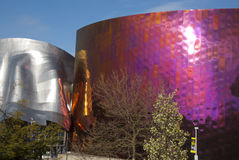 Experience Music Project Seattle Wa royalty free stock photos