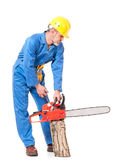 Experienced worker Stock Images