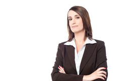 Free Experienced Business Lady Posing Confidently Royalty Free Stock Images - 42994369