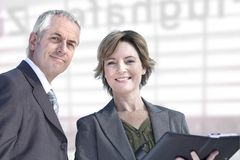 Experienced business people Royalty Free Stock Photos