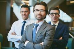 Experienced employer Stock Photo