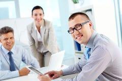 Experienced entrepreneur Stock Photos