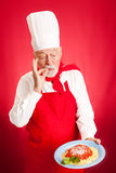 Italian Chef - Delicious Stock Photography