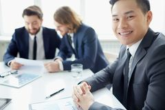 Experienced manager Royalty Free Stock Photography