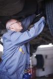 Experienced mechanic Stock Photos