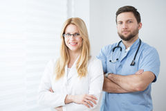 Experienced physicians Stock Photography