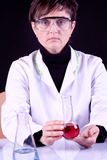 Experienced Scientist Stock Photography