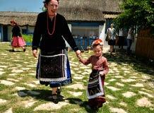 Experiencia auténtica y local en el pueblo de Visina, Rumania imágenes de archivo libres de regalías