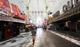 Experiencia de la calle de Fremont, Las Vegas, Nevada Fotografía de archivo libre de regalías