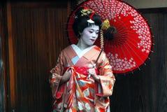 Experiencia del geisha Imagenes de archivo