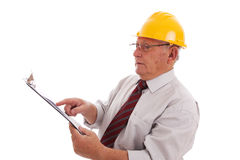Experiment engineer Royalty Free Stock Photo