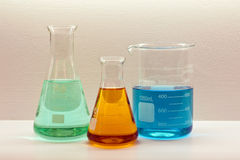 Lab experiment Royalty Free Stock Photography
