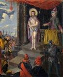 A experimentação de Jesus Christ imagens de stock royalty free