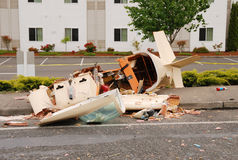 Plane Crash Royalty Free Stock Photos