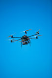 Experimental drone helicopter Royalty Free Stock Photography