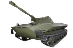 Experimental light amphibious tank Royalty Free Stock Photos