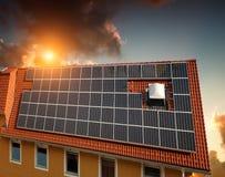 Experimental solar power Stock Photos