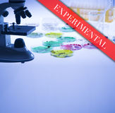 Experimental Treatment Royalty Free Stock Photos