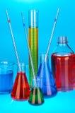 Experimenteel laboratorium Stock Afbeelding